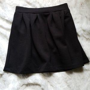 Candies skater skirt black